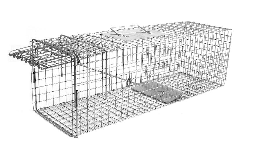 Tomahawk 106.3 - Extra Long Rigid Trap - Cat/Rabbit Size #00001063